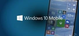 Microsoft lança atualização para Windows 10 mobile